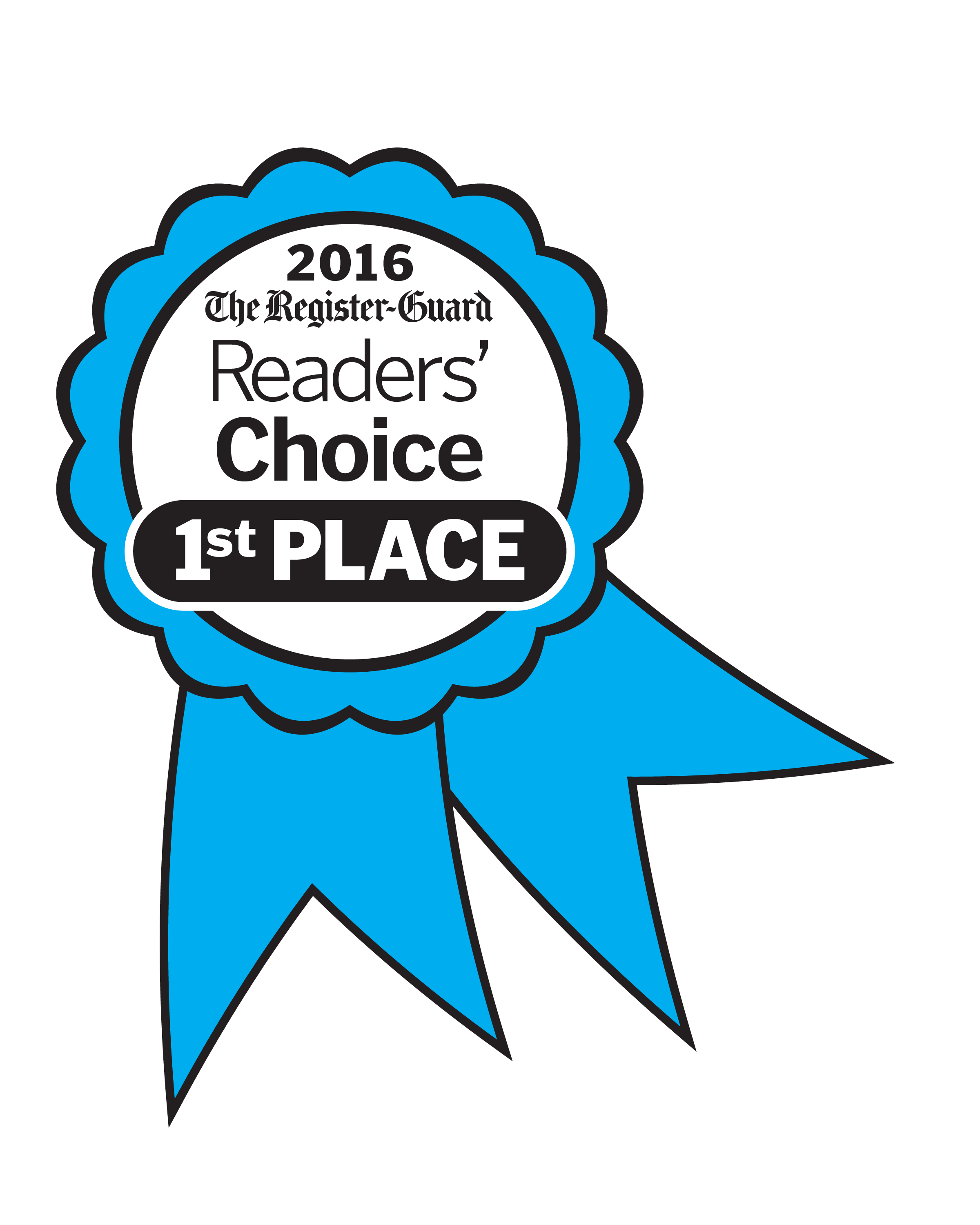 Animal Hospital in Eugene Wins Register Guard Readers Choice Award in 2016